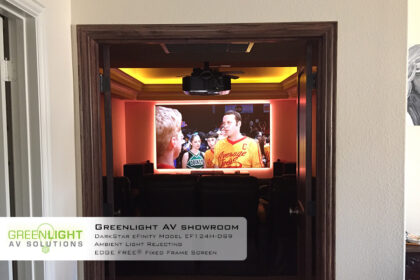 Greenlight AV showroom Darkstar efinity