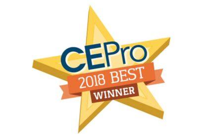 CE Pro 2018 BEST Award