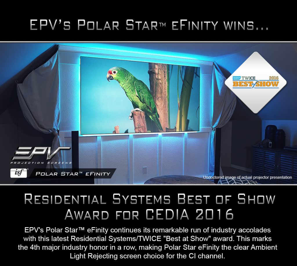 "Polar Star® eFinity Named ""Best at Show"""