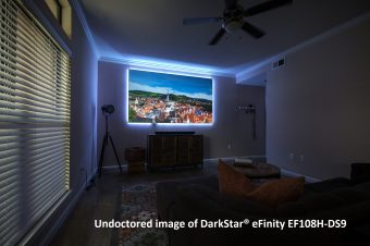 The DarkStar® eFinity won the 2017 CES TechHome Mark of Excellence Award