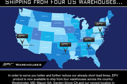EPV® Screens Now Shipping From Four US Warehouses