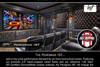 Introducing EPV® Screens' Peregrine ISF