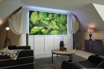 DarkStar® and PolarStar® Projector Screens Reviewed by Projectorcentral.com