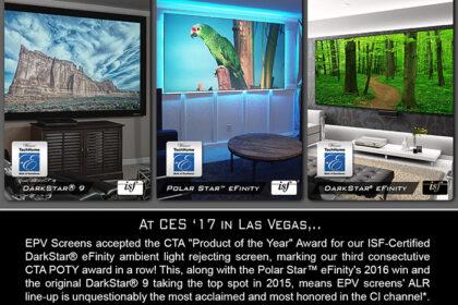 It's An EPV® Screens Three-Peat!