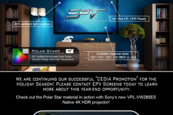 EPV Screens® Polar Star® Promo