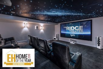 EPV Product Featured in EH Home of the Year Award Winning Installation by TYM™