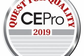 EPV wins the 2019 CE Pro Quest for Quality Award for its Warranty Service